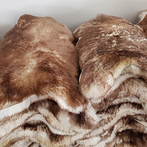 Mouflon sheepskin rug manufacturer tannery leather wholesale