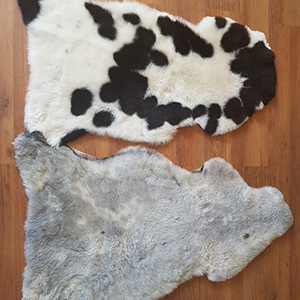 Sheepskin rug shorn merino tannery manufacturer leather skin