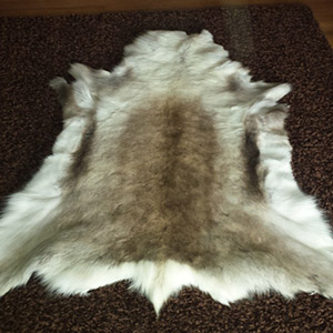 Leather reindeer rug tannery wholesale leather manufacturer