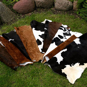 Leather calf rug tannery manufacturer leather wholesale skin